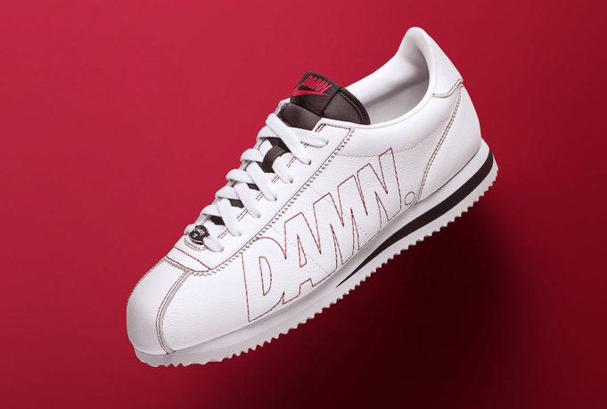 new product d26d4 19fa4 During Monday s NCAA National Championship game between Bama and Georgia,  Kendrick Lamar debuted his signature Nike Cortez Kenny 1 DAMN, the first  official ...